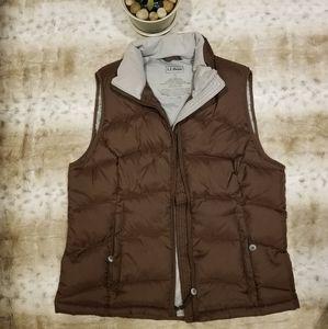 L.L. Bean brown Vest